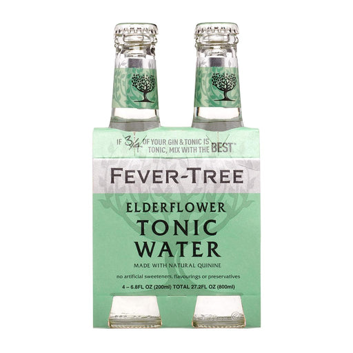 FEVER TREE ELDERFLOWER TONIC | 4PK