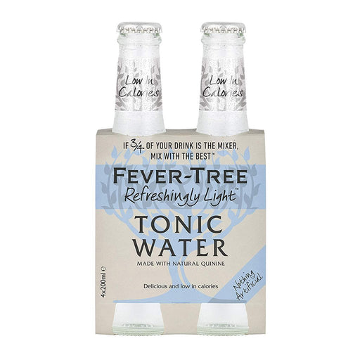 FEVER TREE NATURAL LIGHT TONIC | 4PK