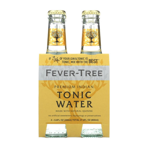 FEVER TREE TONIC WATER | 4 PK