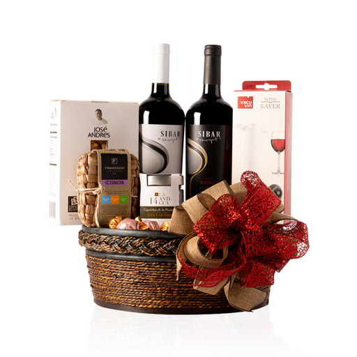 SILKY HOLIDAY GIFT BASKET