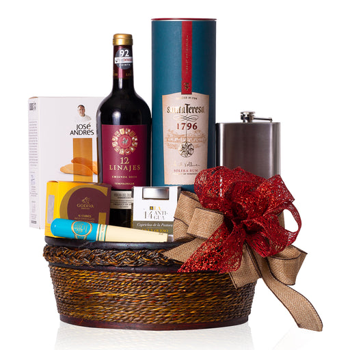 WARMING HOLIDAY GIFT BASKET