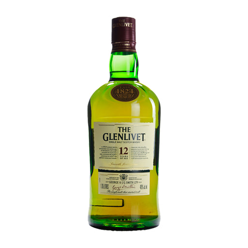 GLENLIVET 12YRS SINGLE MALT SCOTCH | 1.75 L