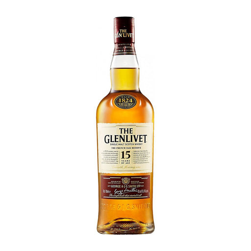 GLENLIVET FRENCH OAK 15YRS SINGLE MALT SCOTCH | 750 ML