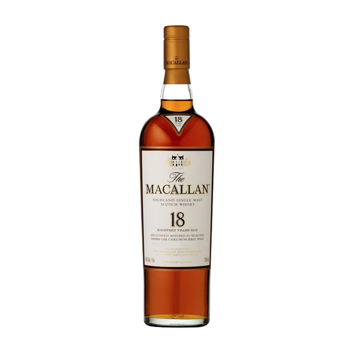 THE MACALLAN 18YRS SINGLE MALT SCOTCH | 750 ML