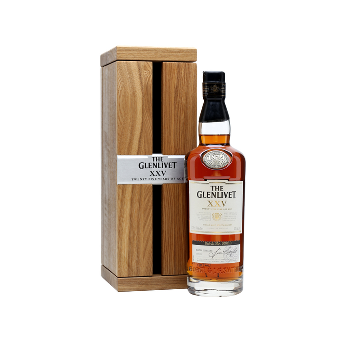 THE GLENLIVET 25YRS SINGLE MALT SCOTCH | 750 ML