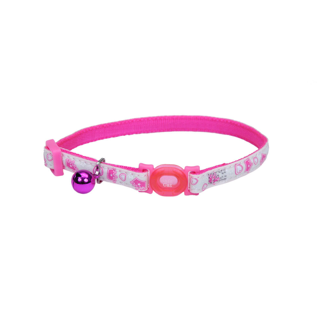 Coastal Glow in the Dark Collar Glowing Pink Queen - Collares para Perros