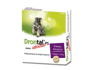 Drontal PS - Desparasitante para Perros