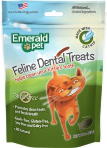 Snacks Emerald Pet Cat Snack Dental Catnip para Gatos a domicilio en Bogotá - Petit Paws