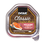 Evolve Cat Classic Crafted Meals Salmón - Alimento Húmedo para Gatos
