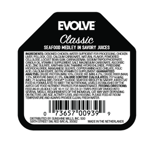 Evolve Cat Classic Crafted Meals Seafood Medley - Alimento Húmedo para Gatos