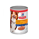 Hill's Science Diet Adult 7+ Chicken and Barley Entrée Lata - Alimento Húmedo para Perros