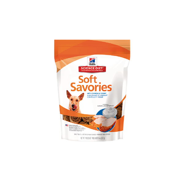 Hill's Science Diet Soft Savories Chicken & Yogurt - Snacks para Perros