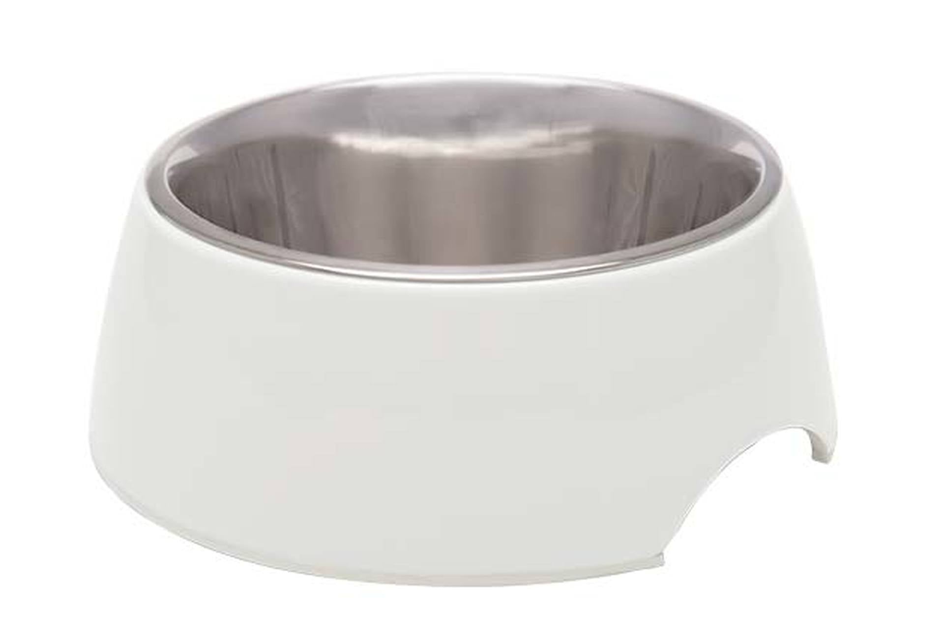 Retro Bowl Ice White - Comederos para Perros