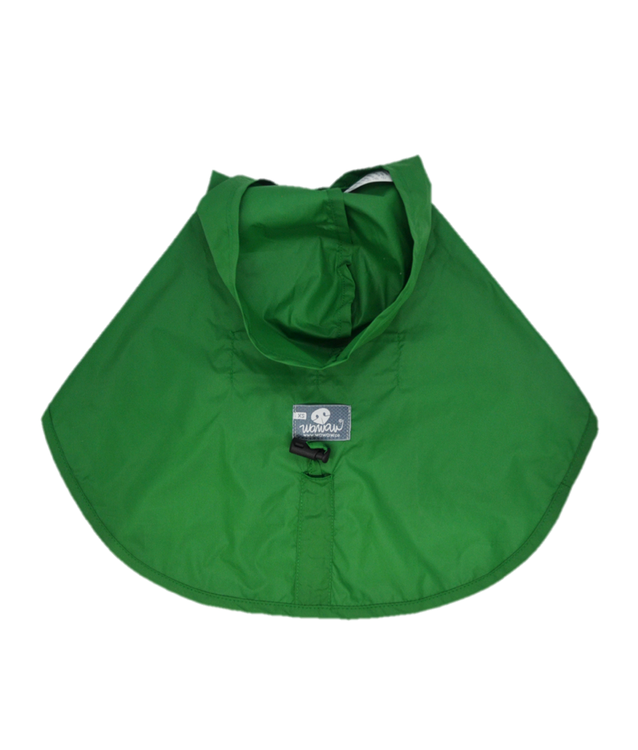 Capa Impermeable Verde Wawaw - Ropa para Perros