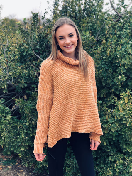 The Golden Rod Chenille Sweater