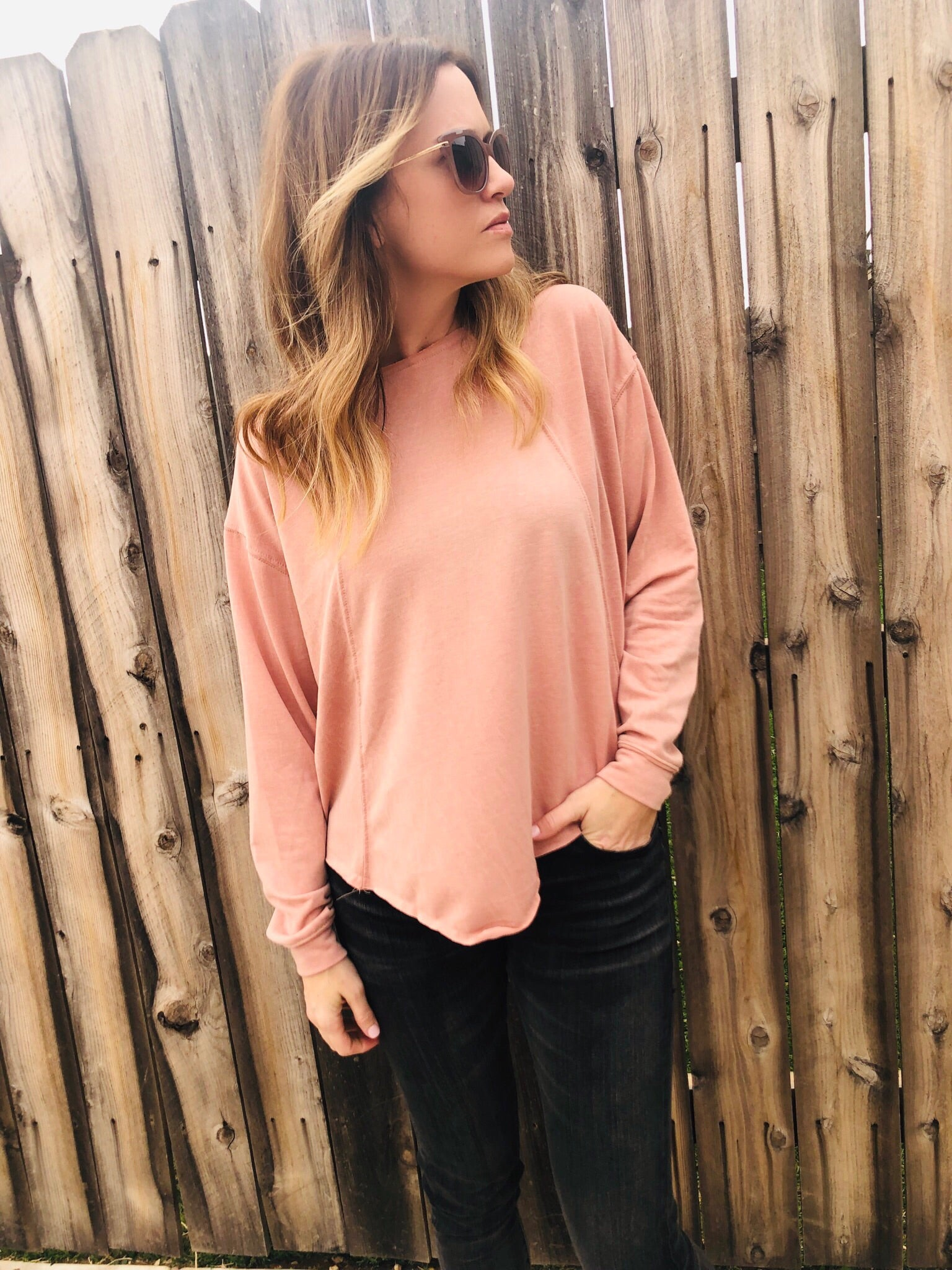 Holly Blush Top