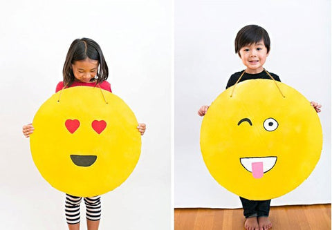 emoji halloween dress theme