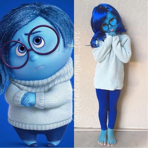 Sadness Inside out Halloween look