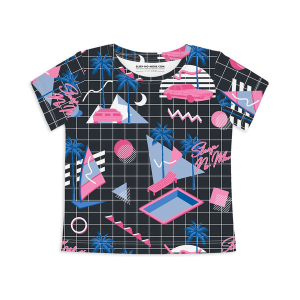 Miami Vice - short sleeves unisex tee - Nick & Nishka