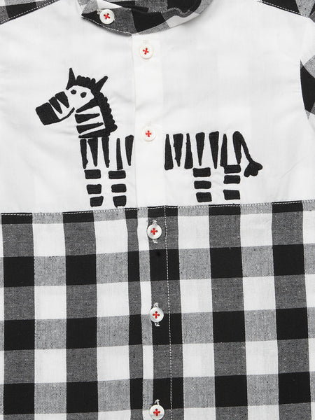 Stripey the Zebra Shirt - Nick & Nishka