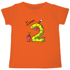 I am 2 - Customized T-shirt - Nick & Nishka