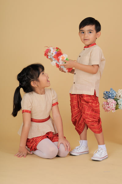 Wynn Thai dress - Nick & Nishka