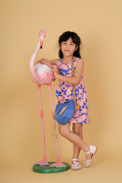 Aruba Aruba girls vest dress - Nick & Nishka