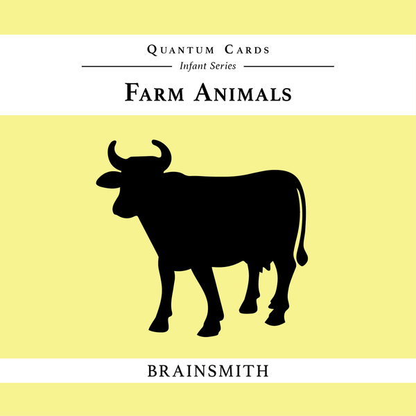 Farm Animals - Quantum Cards for infants - Nick & Nishka