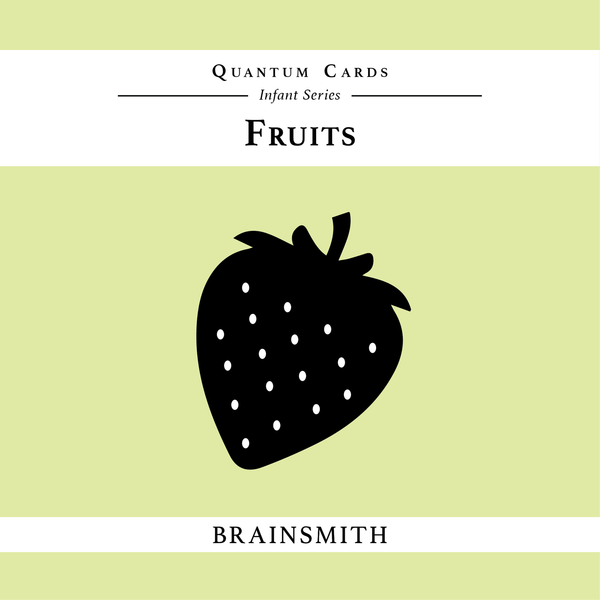 Fruits - Quantum Cards for Infants