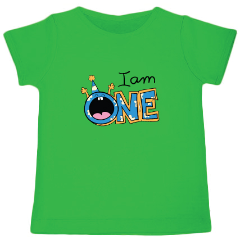 I am one - Organic cotton T-shirt - Nick & Nishka