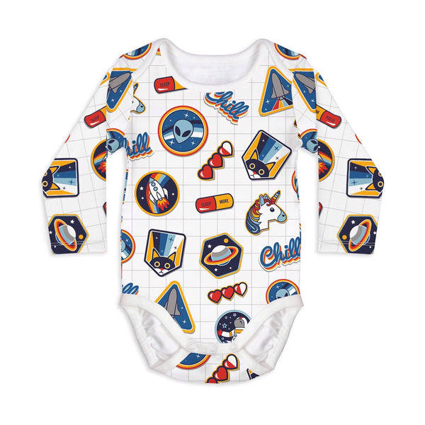 I need space - long sleeves onesie - Nick & Nishka