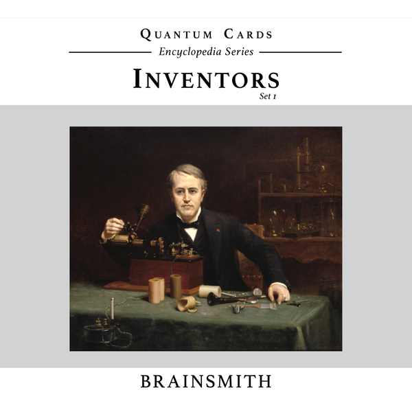 Inventors - Quantum Cards set - Nick & Nishka