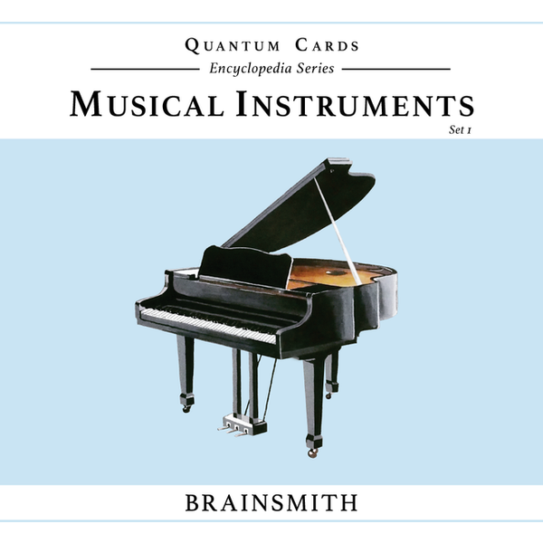 Musical Instruments flash card