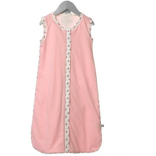 organic GOTS cotton pink sleeping bag