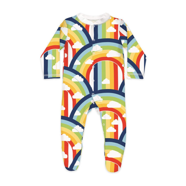 Rainbow & Rain Sleepsuit