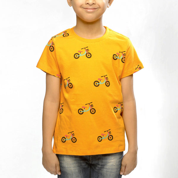 Bicycle T-shirt - Nick & Nishka