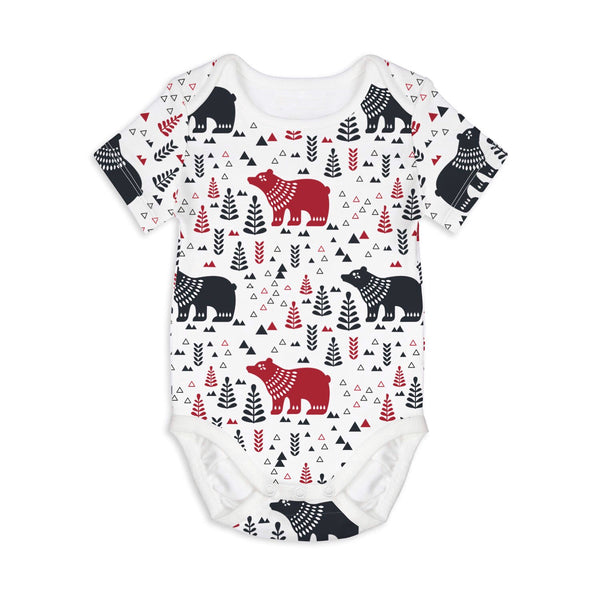 Bear with me - short sleeves onesie - Nick & Nishka