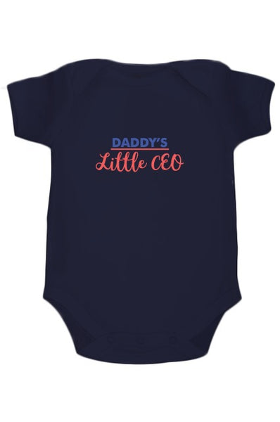 Daddy's Little CEO Customized onesie - Nick & Nishka