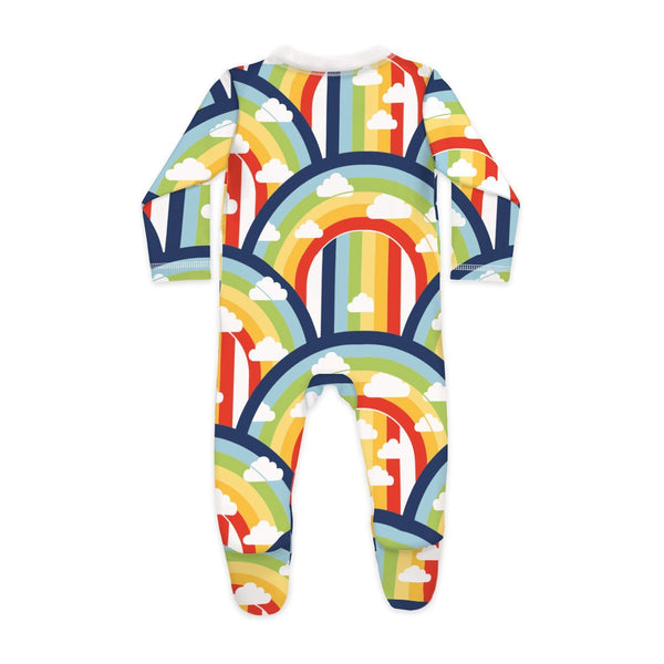 Rainbow and Rain Sleepsuit - Nick & Nishka
