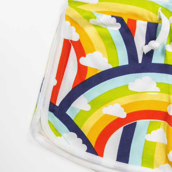 Rainbow and Rain Girls Shorts - Nick & Nishka