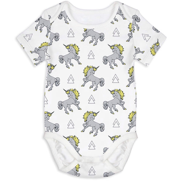 Trust me I am a unicorn - Short Sleeves onesie - Nick & Nishka