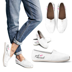 Just Married Minimalist Casual Shoe