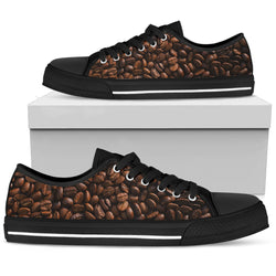 Coffee Bean Low Top Canvas Shoe