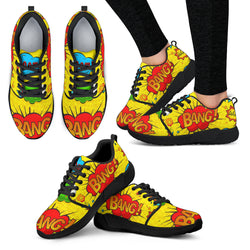 Super Hero Comic Exclamation Sneakers