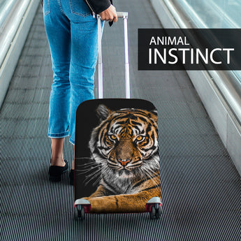 tiger print luggage cover suitcase cover tiger