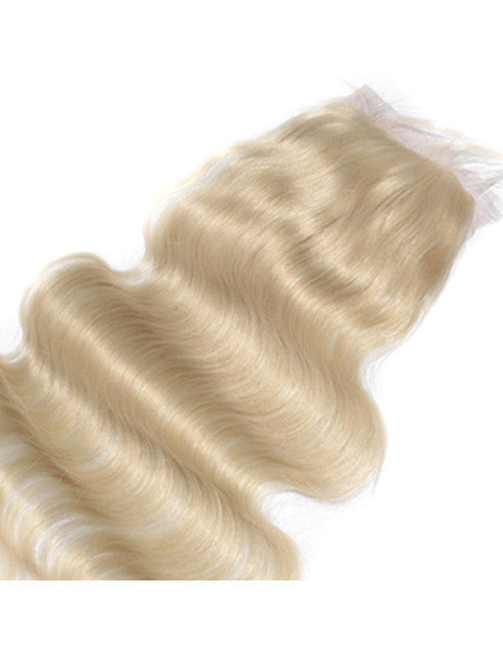 "4""x4"" #613 Blonde Lace Closure"