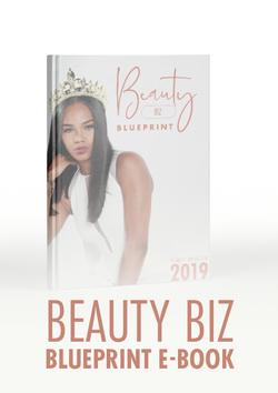 Beauty Biz Blue Print