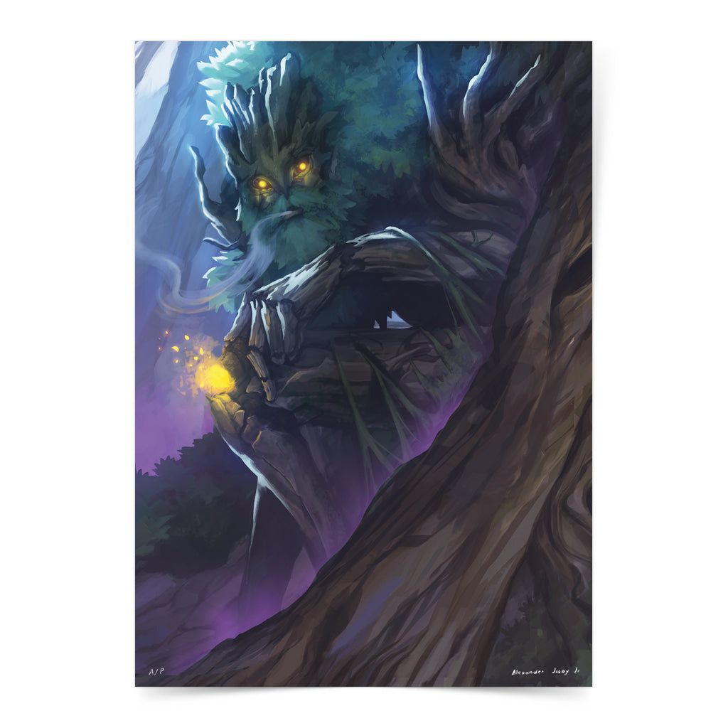 Philippine mythology mythical creature supernatural pinoy legend art fantasy myth spirit collectible mail postcrossing tree giant kafir agtà banyan