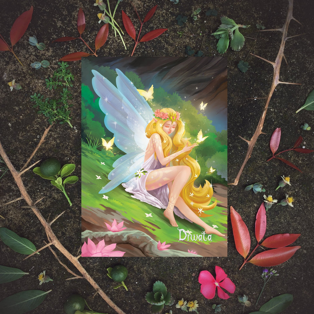 Philippine mythology mythical creature supernatural pinoy legend art fantasy myth spirit nature collectible fairy mail postcrossing Folklore