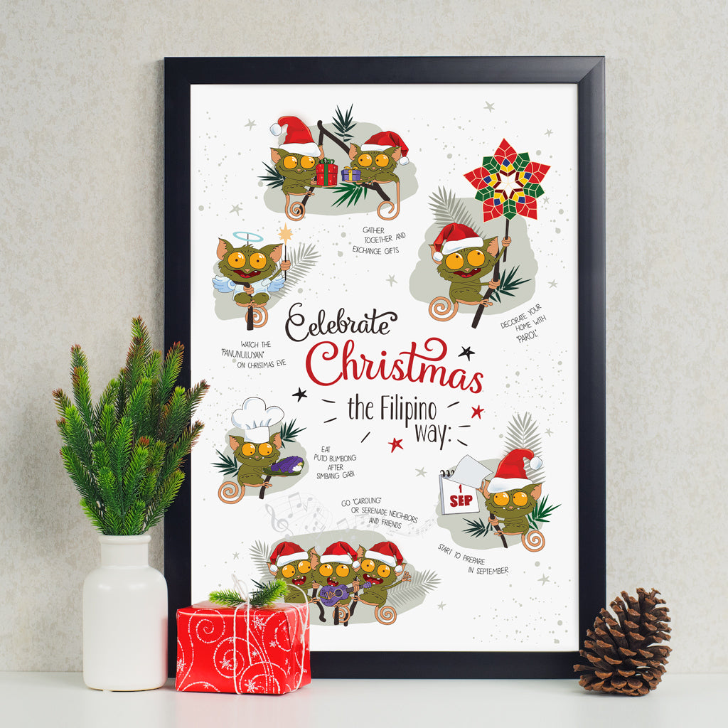 art decoration poster christmas celebration gift philippines maligayang pasko